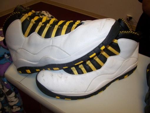 finest selection 37518 98245 Marcus Jordan s Air Jordan 10 PE