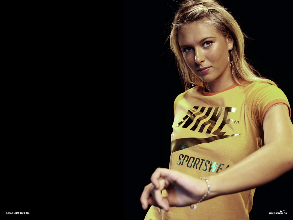 Image result for sharapova nike contract
